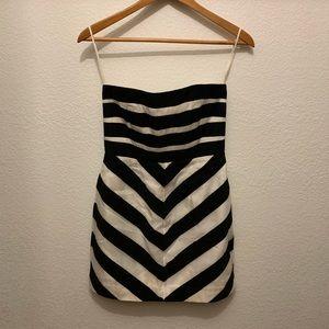 Mini Strapless Dress!